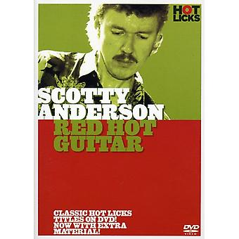Scotty Anderson - Red Hot Guitar [DVD] USA import