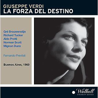 Verdi / Brouwenstijn / Tucker / Dunn / Previtali - La Forza Del Destino [CD] USA import