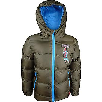 Marvel Spiderman Boys Winter Hooded Jacket