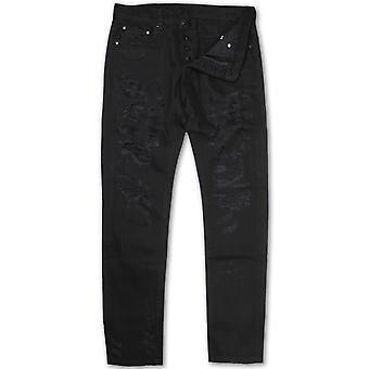 Dope Couture Franklin Tapered Denim Jeans Black