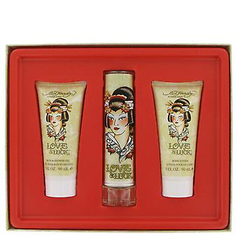 Christian Audigier Women Love & Luck Gift Set By Christian Audigier
