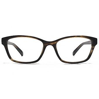 Carvela Small Rectangle Glasses In Brown