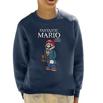 Fantastiske dyr Mario børne Sweatshirt