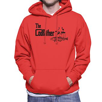 The Codfather Godfather Style Men's Hooded Sweatshirt