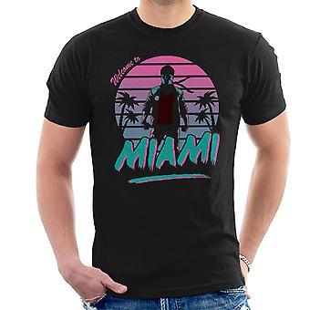 City Of Fury Kung Fury menn t-skjorte