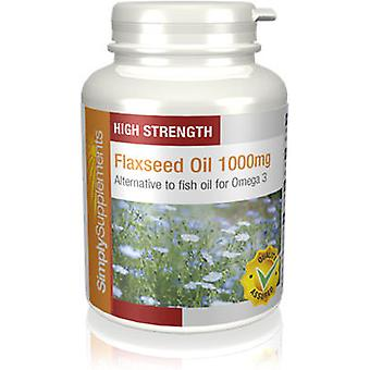 Flaxseed-oil-1000mg - 180 Capsules