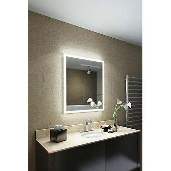 RGB Shaver LED Bathroom Mirror with Demister pad & sensor m1417irgb