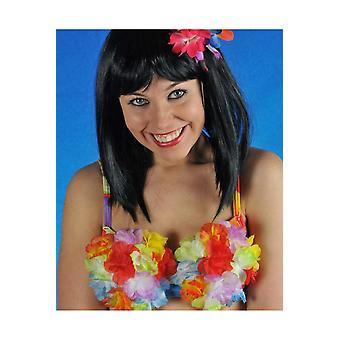 Hawai och tropiska kvinnor blommor behå