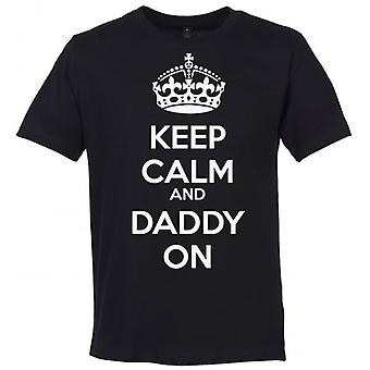 Spoilt Rotten Keep Calm And Daddy On Men's T-Shirt