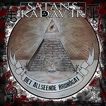 Sataner Kadaver - sataner Kadaver / Det Allseende Brunogat [CD] USA import