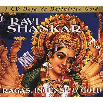 Ravi Shankar - Ragas Incense & Gold [CD] USA import