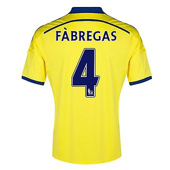 2014-15 Chelsea Away Shirt (Fabregas 4) - Kids