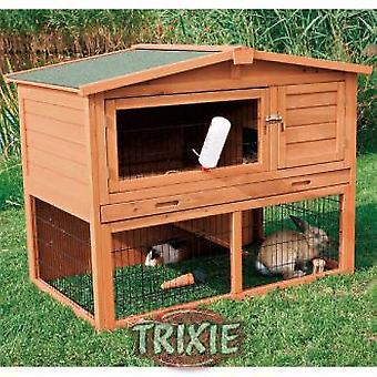 Trixie Double Shed natura, Ramp and Shed (Garden , Animals , Rabbits , Warren)