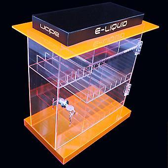 OnDisplay Deluxe E-jugo Display gabinete w/opcional de bloqueo calcomanías - 202