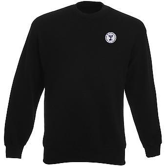 Mossad Seal - Isreali Intelligence Spy Embroidered Logo - Heavyweight Sweatshirt