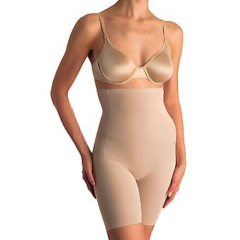 Womens Naomi and Nicole Comfortable Firm Nude Hi-Waist Thigh Slimmer 779