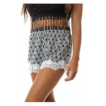 The Fashion Bible Fairytale Lace Trim Shorts