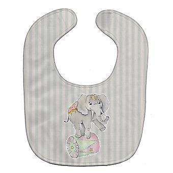キャロラインズ宝物 BB6859BIB サーカスの象の赤ちゃんのよだれかけ