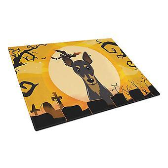 Каролинских сокровища BB1798LCB Хэллоуин мин Pin Стеклянная Разделочная доска большой