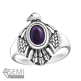 Eagle - 925 Sterling Silver Jewelled Rings - W32332x