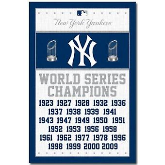 New York Yankees Champs Poster Poster afdrukken