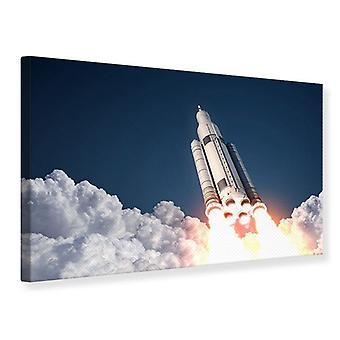 Canvas Print Rocket Start