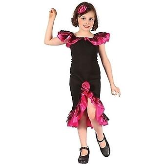 Rumba Girl. Black/Pink (L)