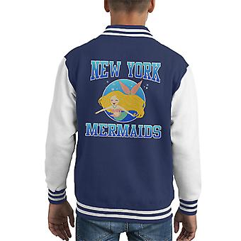 Varsity Jacket New York sirene Varsity capretto