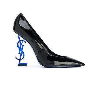Saint Laurent Damen 472011D6CGG1000 Schwarz Leder Pumps