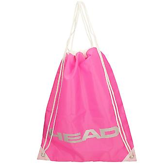 Ladies Gym Shoulder Bag 901968 - Fuchsia Textile - One Size