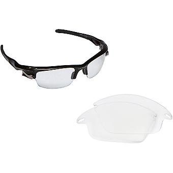 Best SEEK OPTICS Replacement Lenses for Oakley FAST JACKET Clear