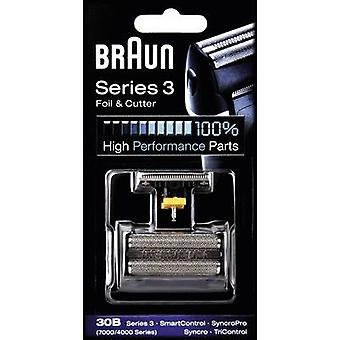 Foil and cutter Braun 30B - Kombipack 7000 Black 1 Set