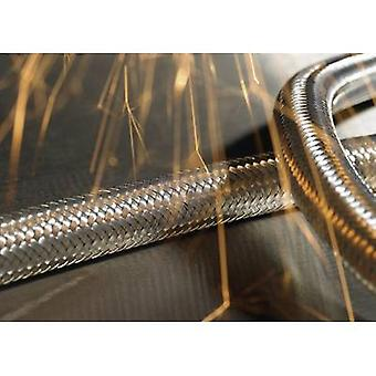SCSB Galvanised Steel Conduit, Galvanised Steel Overbraid SCSB20 166-34402 Hellermann Tyton