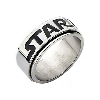 Star Wars Logo Spinner anello