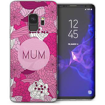 Samsung Galaxy S9 mamá Retro Floral Gel de TPU – rosa