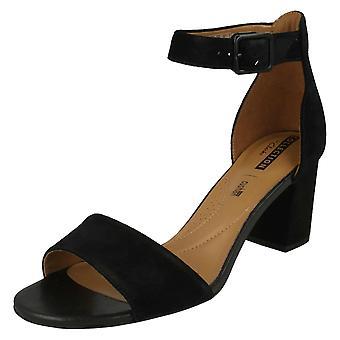 Damen Clarks Heel Sandalen Deva Mae