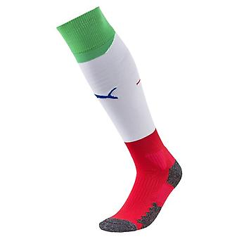 2018-2019 Italie Away chaussettes de Football Puma (blanc)