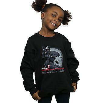 Marvel Girls Avengers Infinity War War Machine Character Sweatshirt