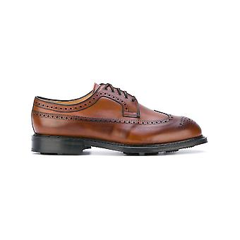 Church's men's EEC0729XMF0AAR Braun leather lace-up shoes