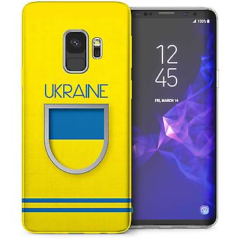 Samsung Galaxy S9 Ukraine World Cup TPU Gel Case
