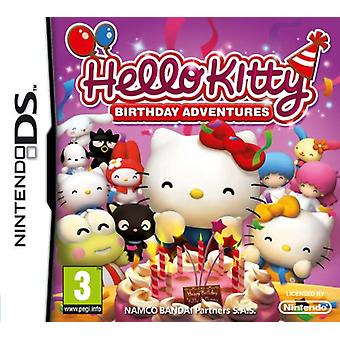 Hello eventyr Kitty fødselsdag (Nintendo DS)
