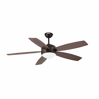 Vanu Brown light Deckenventilator 132cm/52