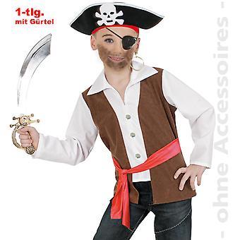 Pirat Seeräuber Kostüm Kinder Piratenkostüm Seefahrer Kinderkostüm