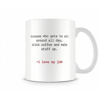 Writer Printed Mug