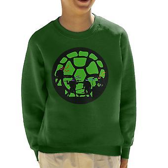 Ninja Turtles Shell Silhouettes TMNT Kid's Sweatshirt