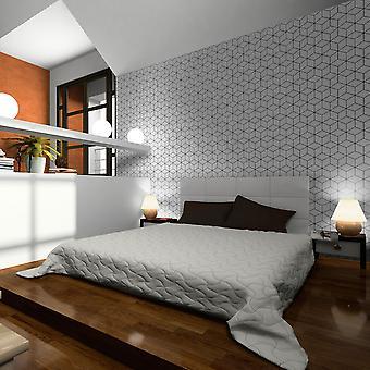 Behang - kubussen - textuur