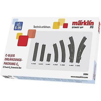 H0 Märklin C (incl. track bed) 24904 Expansion set