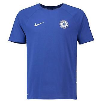 2018-2019 Chelsea Nike a secco Match Tee (blu)