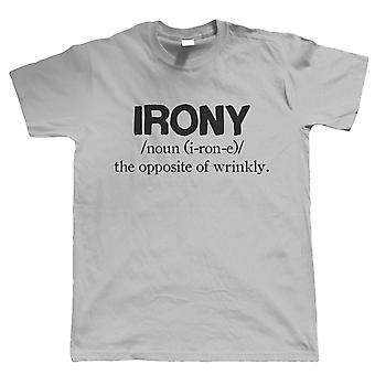 Ironi, Herre sjov T Shirt