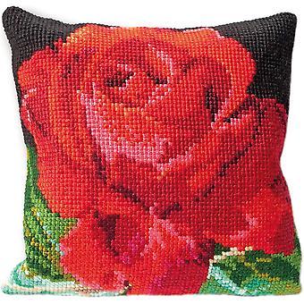 Rose Cushion Tapestry Kit-15.75
